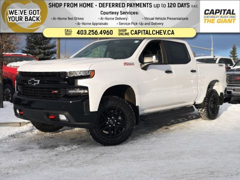 New 2020 Chevrolet Silverado 1500 LT Trail Boss 4WD Crew Cab Pickup