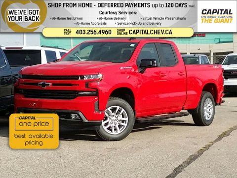 New 2019 Chevrolet Silverado 1500 RST 4WD Extended Cab Pickup