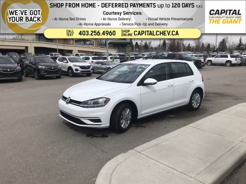 Certified Pre-Owned 2019 Volkswagen Golf Comfortline FWD Hatchback